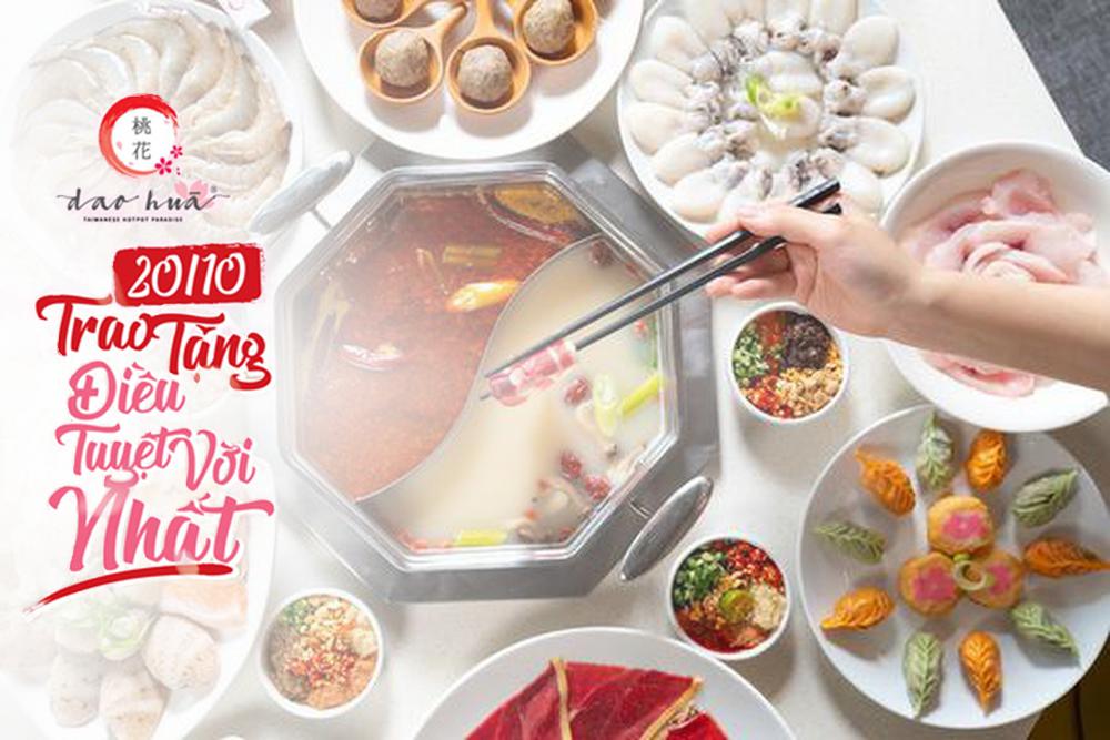 Nhà hàng Đào Hoa - Trao tặng điều tuyệt vời nhất