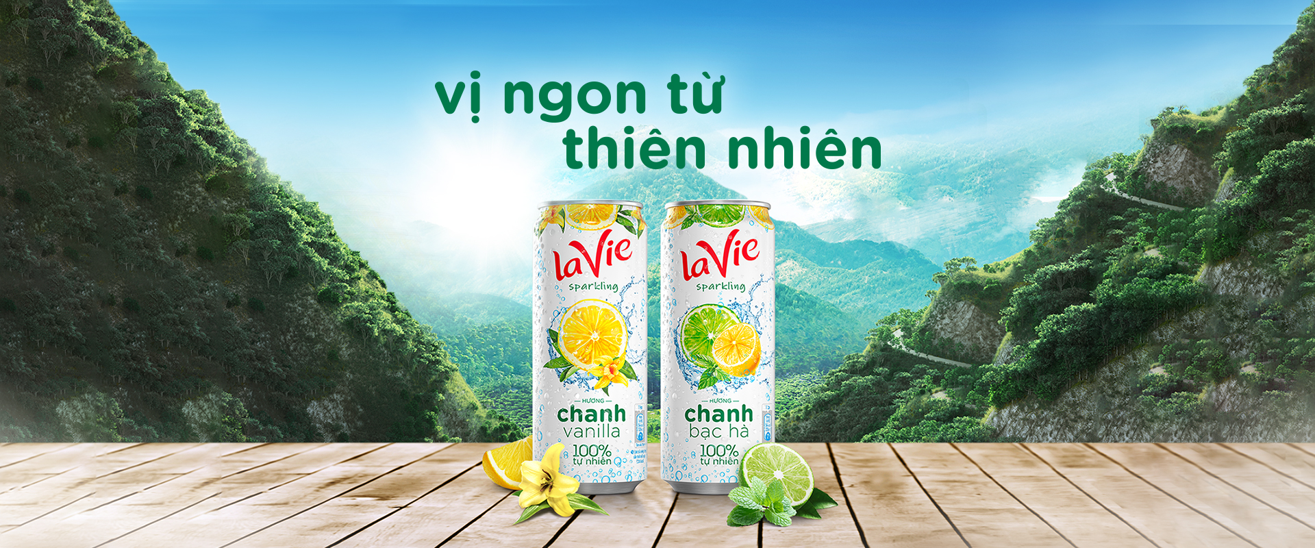 Ra mắt sản phẩm La Vie Sparkling Water