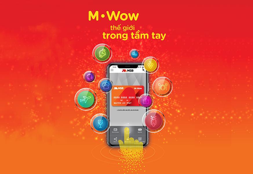 MSB - Ra mắt ứng dụng thanh toán M.WOW
